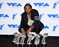 Kendrick Lamar in the press room for the 2017 MTV Video Music Awards at The &quot;Fabulous&quot; Forum, Los Angeles, USA 27 Aug. 2017<br /> Picture: Paul Smith/Featureflash/SilverHub 0208 004 5359 sales@silverhubmedia.com