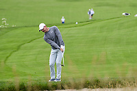 Rory McIlroy (NIR) chips on to 6 during round 2 of the 2019 US Open, Pebble Beach Golf Links, Monterrey, California, USA. 6/14/2019.<br /> Picture: Golffile | Ken Murray<br /> <br /> All photo usage must carry mandatory copyright credit (© Golffile | Ken Murray)