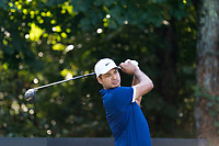 Julian Suri (USA) in action on the 3rd hole during the third round of the 76 Open D'Italia, Olgiata Golf Club, Rome, Rome, Italy. 12/10/19.<br /> Picture Stefano Di Maria / Golffile.ie<br /> <br /> All photo usage must carry mandatory copyright credit (© Golffile | Stefano Di Maria)