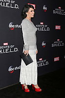 "LOS ANGELES - FEB 24:  Constance Zimmer at ""Marvel's Agents Of S.H.I.E.L.D."" 100th Episode Party at Ohm Nightclub on February 24, 2018 in Los Angeles, CA"