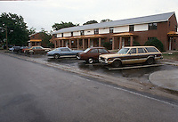 1993 June 03..Assisted Housing..Moton Circle..PROGRESS.EXTERIOR.PARKING PADS ON JAMICA AVENUE...NEG#.NRHA#..