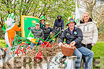 Tony Wharton, Jacqueline Looney, Liam fleming, cyril Wharton, Liam Harton, Tom Wharton, Mick Myers digging the spuds at the Killarney St Patricks Day parade