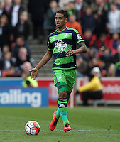 Swansea City's Kyle Naughton during the Barclays Premier League match between Stoke City and Swansea City played at Britannia Stadium, Stoke on April 2nd 2016