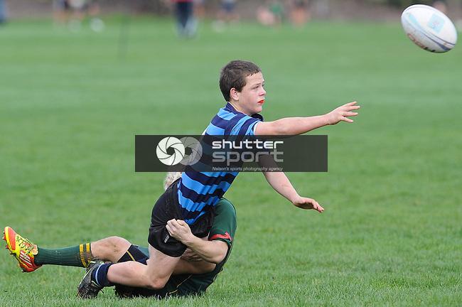 #9  Nelson College v Waimea College u15 Final. Tahuna, Nelson, 11/08/12. Photo: Shaun Bowie / Shuttersport