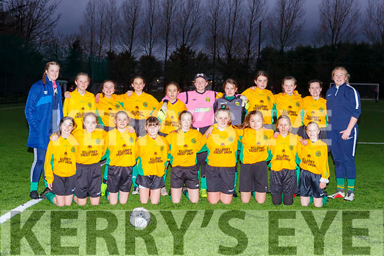 The Kerry u13 team that played the Limerick Desmond League in the Gaynor Cup in Georgie O'Callaghan Park on Saturday evening