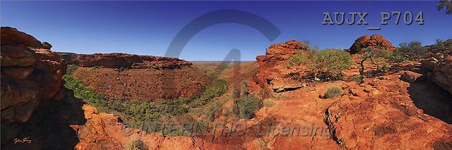 Dr. Xiong, LANDSCAPES, panoramic, photos, Kings Canyon, Watarrka NP, NT, Australia(AUJXP704,#L#)