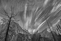 Three Brothers and El Cap Ridgeline, Autumn