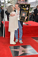 Mandy Patinkin & Kathryn Grody at the Hollywood Walk of Fame Star Ceremony honoring actor Mandy Patinkin on Hollywood Boulevard, Los Angeles, USA 12 Feb. 2018<br /> Picture: Paul Smith/Featureflash/SilverHub 0208 004 5359 sales@silverhubmedia.com