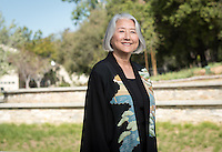 Angela Wood, Director, Office of Pre-Health Advising - Portrait taken for Hameetman Career Center (HCC) brochure, March 10, 2016.<br /> (Photo by Marc Campos, Occidental College Photographer)