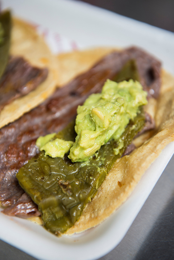 Cochinita Pibil. Foodtruck, streetfood, Mexico City