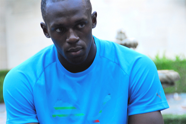 Olympic champion and world record holderJamaican sprinter Usain Bolt