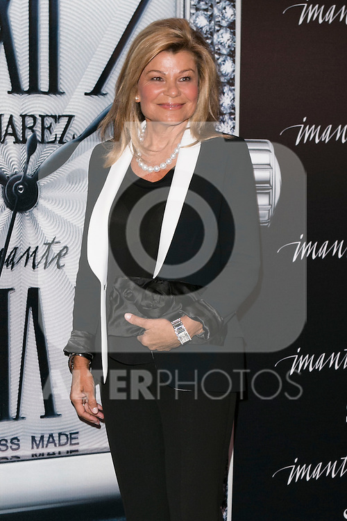 "Cari Lapique at the presentation of the first woman watch of Suarez Brand at ""La casa encendida"" in Madrid, Spain. October 15, 2014. (ALTERPHOTOS/Carlos Dafonte)"
