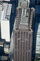 aerial photograph 555 California Street skyscraper San Francisco