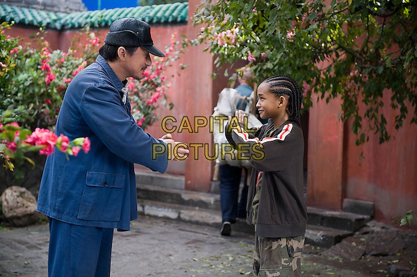 JACKIE CHAN & JADEN SMITH .in The Karate Kid (2010).*Filmstill - Editorial Use Only*.CAP/FB.Supplied by Capital Pictures.