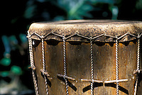 Tradditional Hawaiian pahu drum