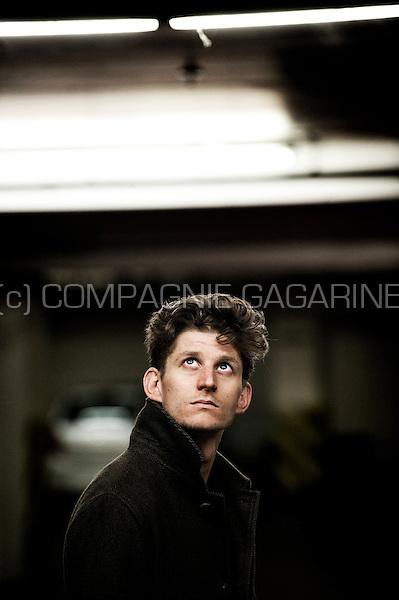 Flemish actor Titus De Voogdt (Belgium, 26/10/2010)