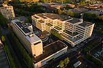 Aerial View of the Bonneville Power Administration (BPA) Building, Portland, Oregon