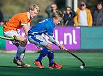 BLOEMENDAAL  - Jens de Vuijst,  competitiewedstrijd junioren  landelijk  Bloemendaal JB1-Kampong JB1 (4-3) . COPYRIGHT KOEN SUYK