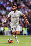 Isco of Real Madrid in action during their La Liga match between Real Madrid and Deportivo Leganes at the Estadio Santiago Bernabéu on 06 November 2016 in Madrid, Spain. Photo by Diego Gonzalez Souto / Power Sport Images