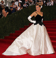 "NEW YORK CITY, NY, USA - MAY 05: Sarah Jessica Parker at the ""Charles James: Beyond Fashion"" Costume Institute Gala held at the Metropolitan Museum of Art on May 5, 2014 in New York City, New York, United States. (Photo by Xavier Collin/Celebrity Monitor)"