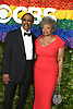 Harold Wheeler and Hattie Winston  attends the 2019 Tony Awards on June 9, 2019 at Radio City Music Hall in New York, New York, USA.<br /> <br /> photo by Robin Platzer/Twin Images<br />  <br /> phone number 212-935-0770