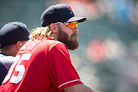 Tacoma Rainiers outfielder Jayson Werth (35) during a Pacific Coast League game against the Sacramento RiverCats at Raley Field on May 15, 2018 in Sacramento, California. Tacoma defeated Sacramento 8-5. (Zachary Lucy/Four Seam Images)