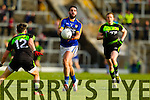 Bryan Sheehan Kerry in action against Jason Doherty Mayo in the first round of the National Football League at Fitzgerald Stadium Killarney on Sunday.