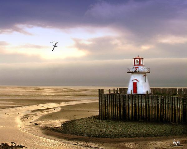 Bay of Fundy Lighthouse