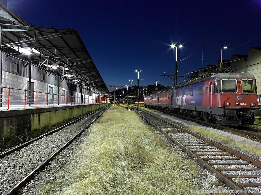 Switzerland, Ticino, Chiasso, Bordertown, Border Switzerland Italy, Custom