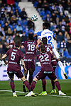 CD Leganes's  Chidozie Awaziem and RC Celta de Vigo's Joseph Aidoo Santi Mina Okay Yokuslu during La Liga match 2019/2020 round 16<br /> December 8, 2019. <br /> (ALTERPHOTOS/David Jar)
