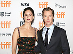 Katherine Waterston and Benedict Cumberbatch attends 'The Current War' premiere during the 2017 Toronto International Film Festival at Princess of Wales Theatre on September 9, 2017 in Toronto, Canada.