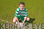 Name: Chris Davies.Team: Killarney Celtic.Position: Striker.School: St. Brendan's College.Favourite Team: Liverpool.Favourite Player: John.Arne Riise