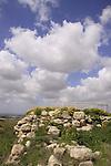 Israel, Southern Coastal Plain, the Sheikh's Tomb on Tel Gezer
