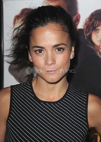 """HOLLYWOOD, CA - MARCH 24:  Alice Braga at the Los Angeles premiere of """"Kill Me Three Times"""" at ArcLight Hollywood on March 24, 2015 in Hollywood, California. Credit: PGSK/MediaPunch"""