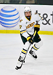 3 December 2011: University of Vermont Catamount defenseman Blake Doerring, a Freshman from Chanhassen, MN, in third period action against the University of Maine Black Bears at Gutterson Fieldhouse in Burlington, Vermont. The Catamounts fell to the Black Bears 5-2 in the second game of their 2-game Hockey East weekend series. Mandatory Credit: Ed Wolfstein Photo