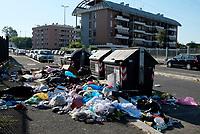 Roma, 23 Giugno 2019<br /> Via Franco Angeli, Tor Sapienza.<br /> Rifiuti in strada,emergenza