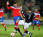 Lee McCulloch and Kieran Duffie