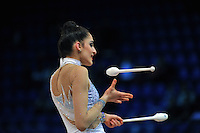 "ZEYNAB JAVADLI of Azerbaijan performs at 2011 World Cup Kiev, ""Deriugina Cup"" in Kiev, Ukraine on May 7, 2011."
