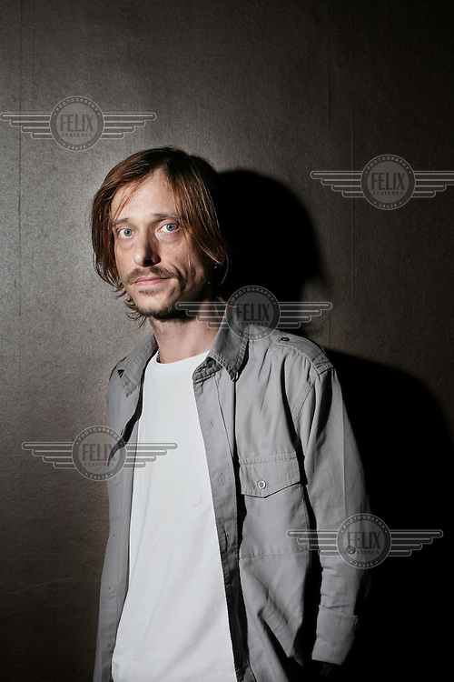 Actor Mackenzie Crook photographed at the Apollo Theatre, Shaftesbury Avenue, London.