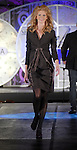 A model walks the runway wearing fashions from Ferragamo at the Fall Fashion show at the Galleria Thursday  Oct. 16,2008. (Dave Rossman/For the Chronicle)