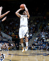 Justin Cobbs of California shoots the ball during the game against UCSB Gauchos at Haas Pavilion in Berkeley, California on December 19th, 2011.   California defeated UC Santa Barbara, 7-50.