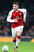 Sead Kolasinac of Arsenal during the Carabao Cup Quarter Final match between Arsenal and West Ham United at Emirates Stadium on December 19th 2017 in London, England.  <br /> Premier League 2017/2018 <br /> Foto Panoramic / Insidefoto