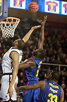 Hamilton vs Mickael. FC Barcelona Regal vs Uxue Bilbao Basket