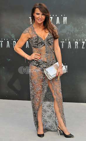 Elizabeth &quot;Lizzie&quot; Cundy at the &quot;The Legend of Tarzan&quot; European film premiere, Odeon Leicester Square, Leicester Square, London, England, UK, on Tuesday 05 July 2016.<br /> CAP/CAN<br /> &copy;Can Nguyen/Capital Pictures /MediaPunch ***NORTH AND SOUTH AMERICAS ONLY***