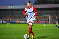Fleetwood Town's midfielder Barry Baggley (30) during the The Leasing.com Trophy match between Fleetwood Town and Liverpool U21 at Highbury Stadium, Fleetwood, England on 25 September 2019. Photo by Stephen Buckley / PRiME Media Images.