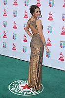 LAS VEGAS, NV - NOVEMBER 15 :  Odalys Garcia pictured at the 2012 Latin Grammys at Mandalay Bay Resort on November 15, 2012 in Las Vegas, Nevada.  Credit: Kabik/Starlitepics/MediaPunch Inc. /NortePhoto