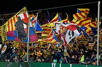 27th November 2019; Camp Nou, Barcelona, Catalonia, Spain; UEFA Champions League Football, Barcelona versus Borussia Dortmund; FC Barelona suporters - Editorial Use