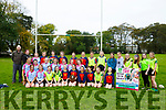 Presentation Secondary School, Listowel, at the  Kerry Girls Schools Rugby Shields 2017 competition at Listowel Town Park on Tuesday