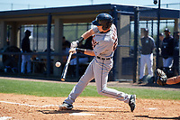Detroit Tigers Cole Bauml (26) during a Minor League Spring Training game against the New York Yankees on March 21, 2018 at the New York Yankees Minor League Complex in Tampa, Florida.  (Mike Janes/Four Seam Images)