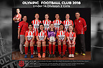 Olympic FC Under 14 Division 2 Girls 2018